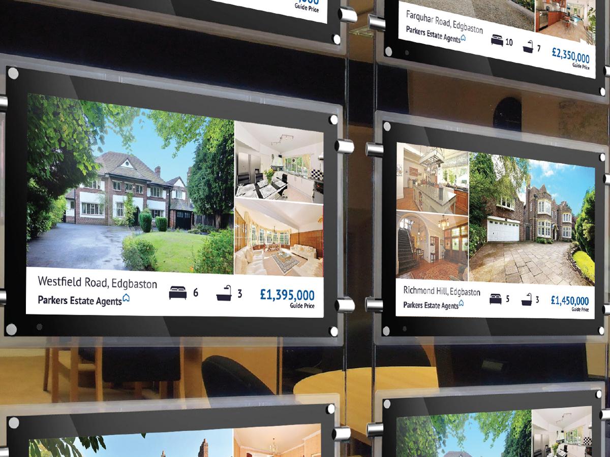 Visuall Group, écran digitaux pour agences immobilières